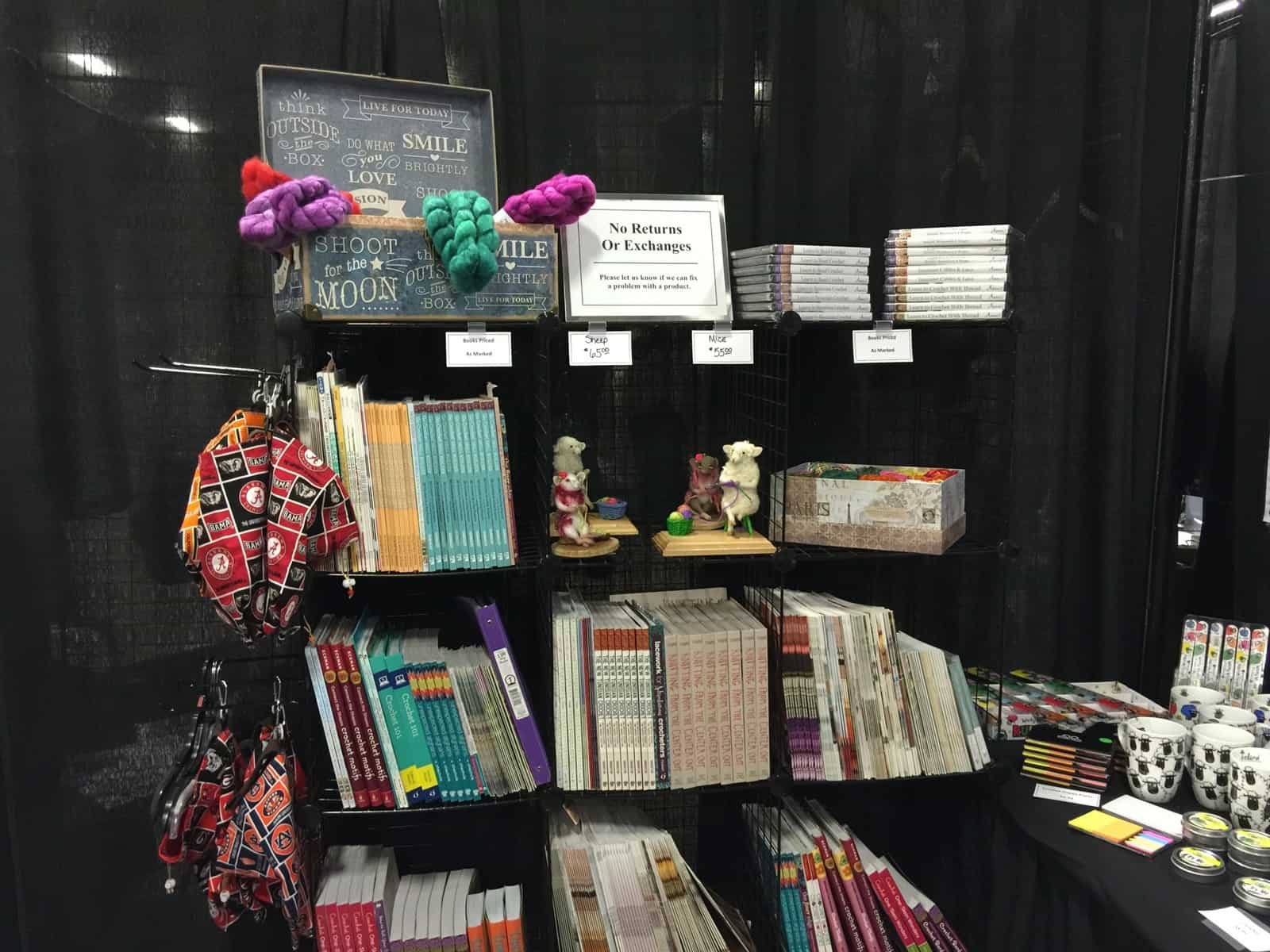 Crochetville Booth at STITCHES South