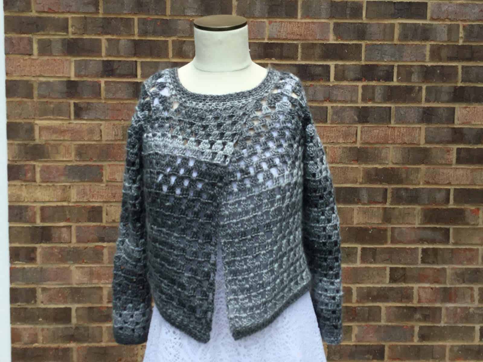 Unforgettable Extended-Front Cardigan   Get Squared   Jenny King Designs
