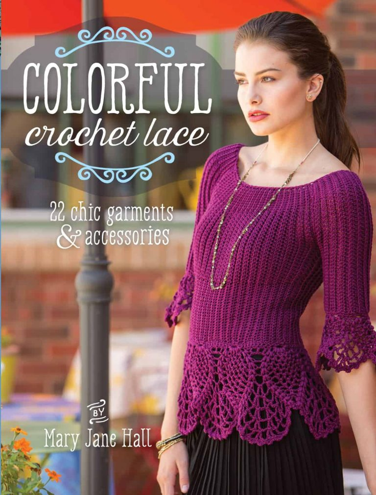 Colorful Crochet Lace by Mary Jane Hall