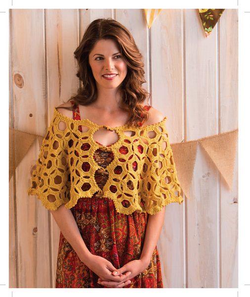 Honeycomb Shawlette