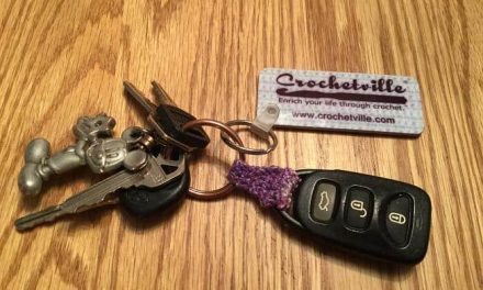 Free Pattern: Crochet Key Fob Connector