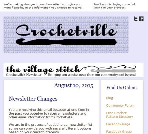 The Village Stitch Newsletter
