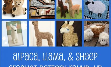 Crochet Pattern Round-Up: Alpaca, Llama, and Sheep