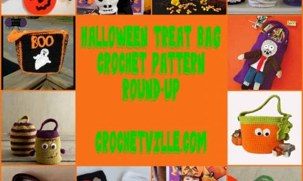 Crochet Pattern Round-Up: Halloween Treat Bags