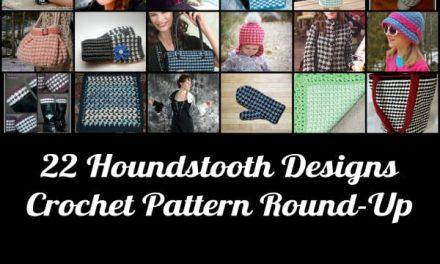 Crochet Pattern Round-Up: Houndstooth