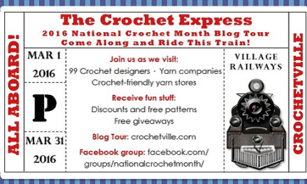 All Aboard the Crochet Express Blog Tour