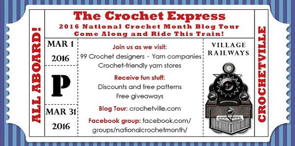 All Aboard the Crochet Express Blog Tour