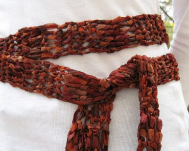 Incredible Ribbon Belt/Scarf | Andrea Lyn Van Benschoten