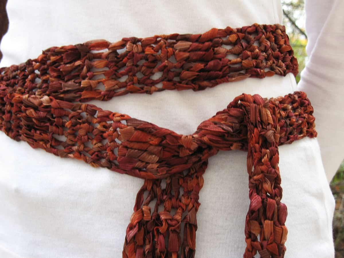 Incredible Ribbon Belt/Scarf | Andrea Lyn Van Benschoten