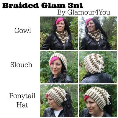 Braided Glam 3n1 | Ann Mancini-Williams | Glamour4You
