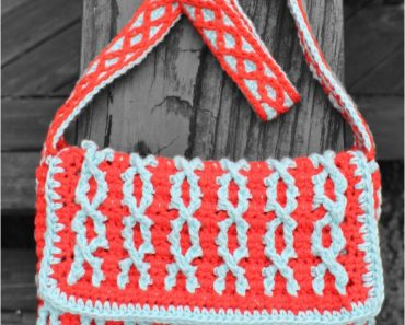 Totally Twisted Mini Messenger Bag | Ann Mancini-Williams | Glamour4You