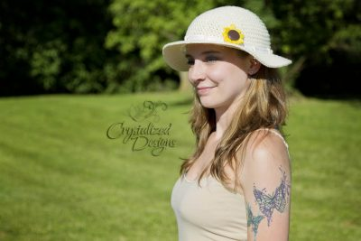 Sunflower Sun Hat | Crystal Bucholz | Crystalized Designs