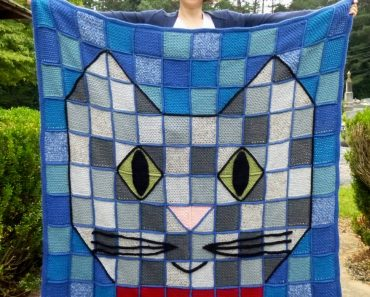Kitty Cat Blanket | Darleen Hopkins