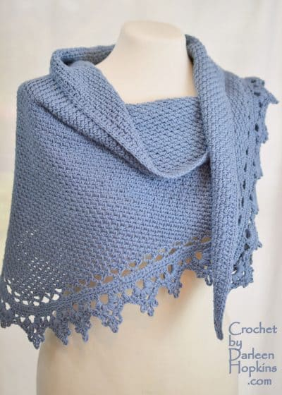 Black Raspberry Shawl | Darleen Hopkins