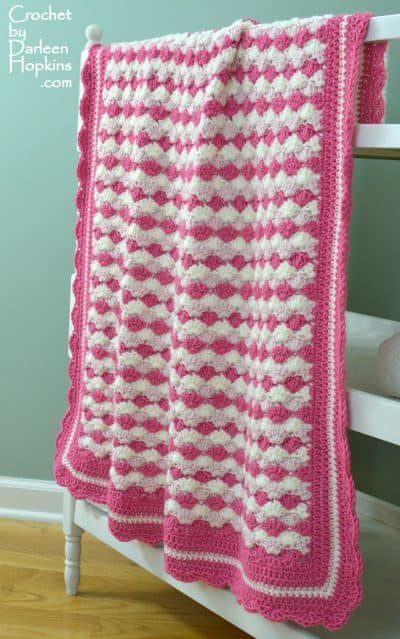Shells of Love Baby Blanket | Darleen Hopkins