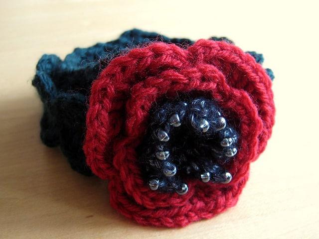 Beaded Poppy Bracelet | Esther Chandler