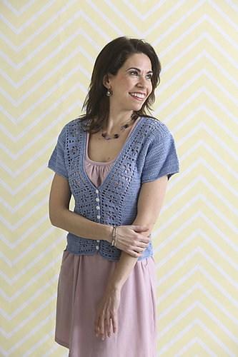 Ladylike Buttoned Cardi | Nazee Fard