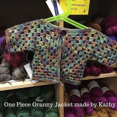 String Theory Yarn Company crochet sample