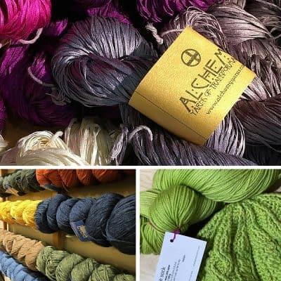 String Theory Yarn Company yarn selection