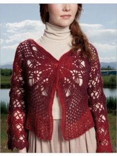 Rasta Rose Cardi | Tammy Hildebrand | Hot Lava Crochet