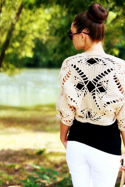 CrocheTrend Shrug | Viktoria Gogolak