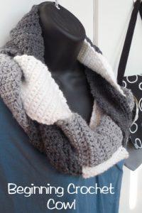 3 Kittens Needle Arts | Beginning Crochet Cowl