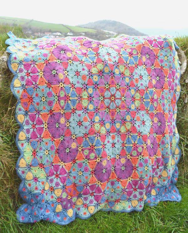 Kaleidoscope Crochet Blanket | Amanda Perkins