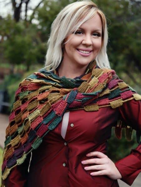 Cobblestone Wrap | Angelia Robinson