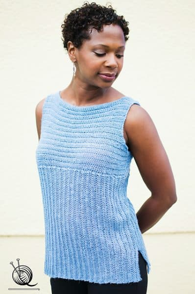 Rialto Ribbed Top | Angelia Robinson