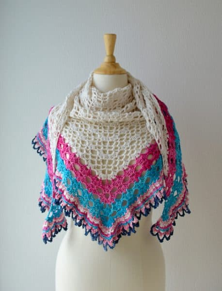 It's a Sunny Day Shawl | Annelies Baes