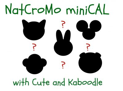 Cute and Kaboodle miniCAL