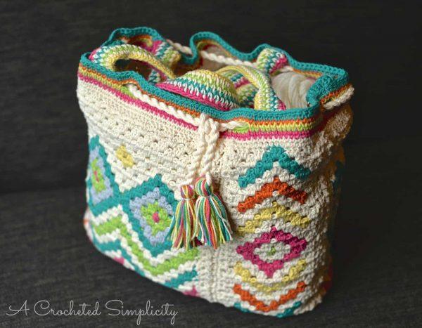 Boho Chic Mosaic Tote | Jennifer Pionk
