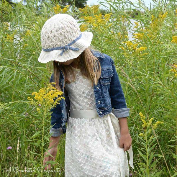 Summer Waves Sunhat | Jennifer Pionk