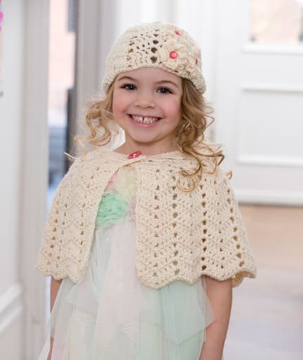 Ripple Hat and Capelet