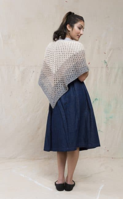 Asticou Terrace | Free Crochet Shawl Pattern