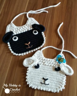 Little Lamb Baby Bib | Kinga Erdem