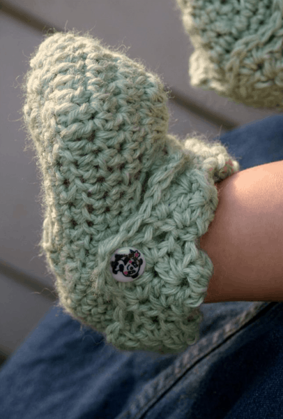Perfection Baby Bootie Trio | Kraemer Yarns