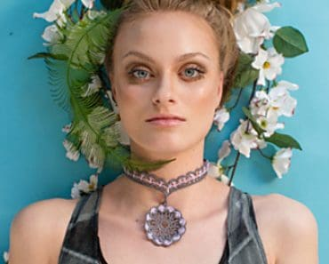 Vasantasri Necklace | Lori Carlson | Crochet Pattern