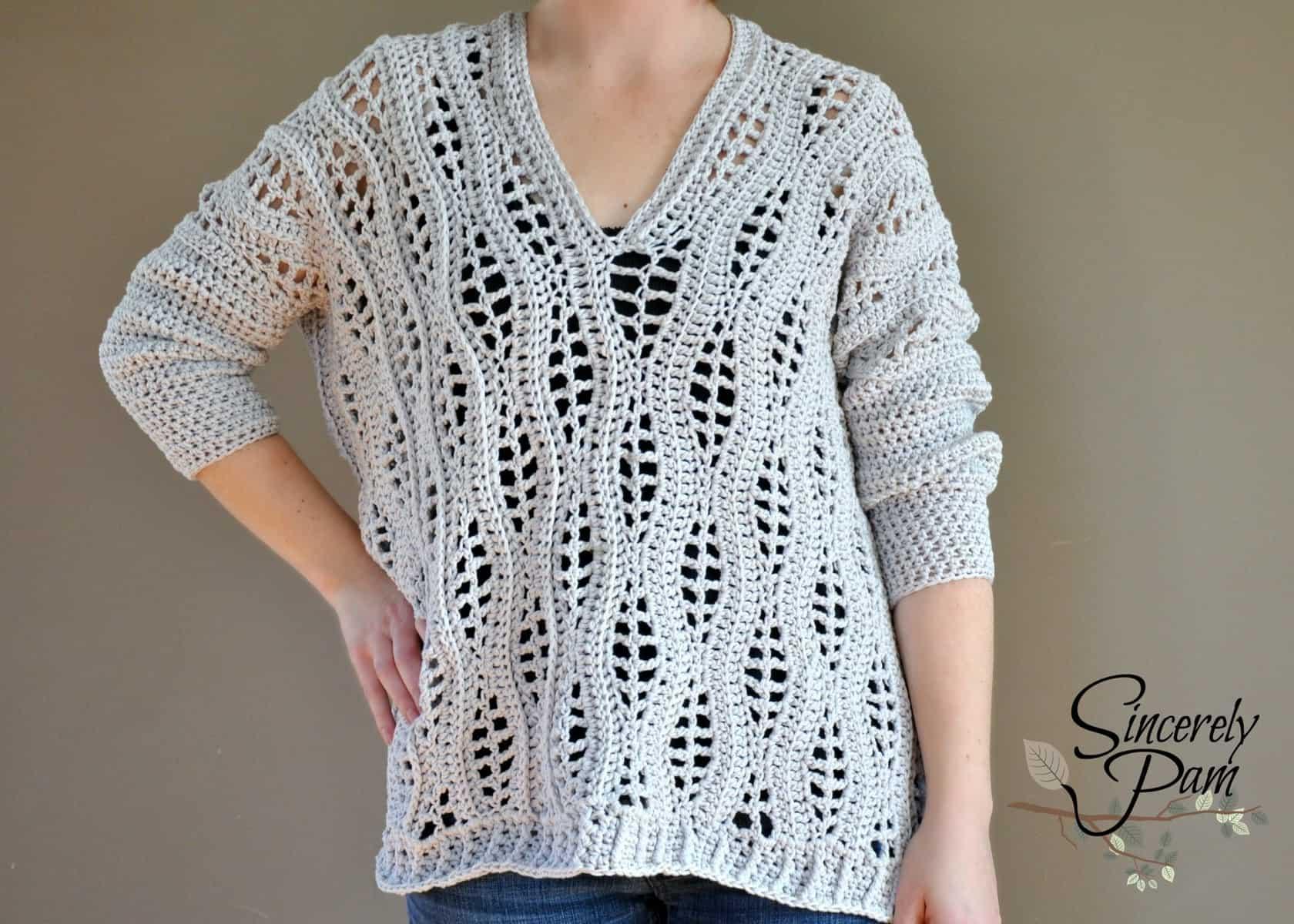 The Salena Sweater | Pam Dajczak