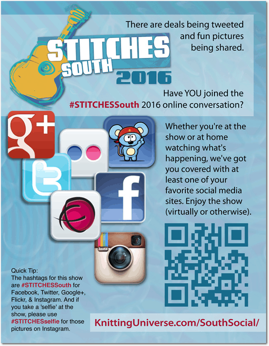 STITCHES South Social Media