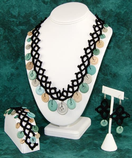Faux Tatted Jewelry Set | Susan Lowman