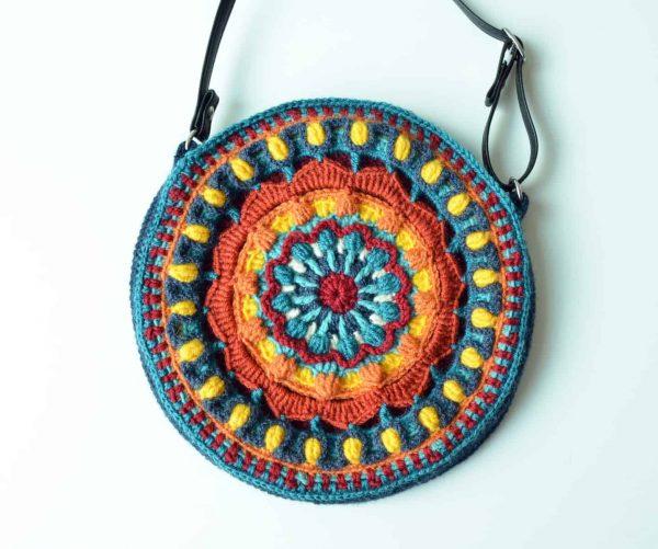 Kaleidoscope Mandala Bag | Tatsiana Kupryianchyk
