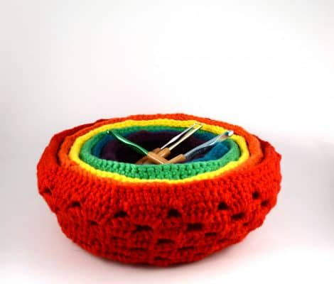 Nesting Baskets | Uptown Bulky | Universal Yarn