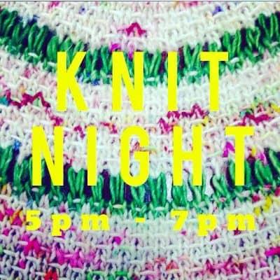 Knit Night | Unraveled Yarn