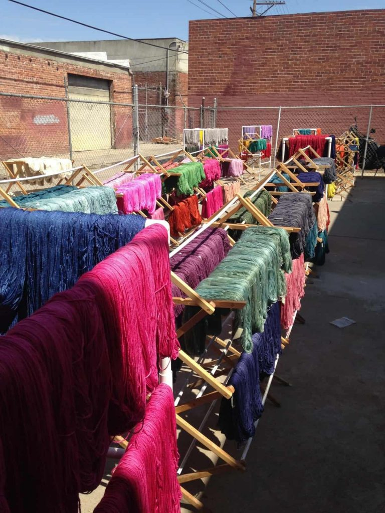 Anzula Yarns | Drying Yarn