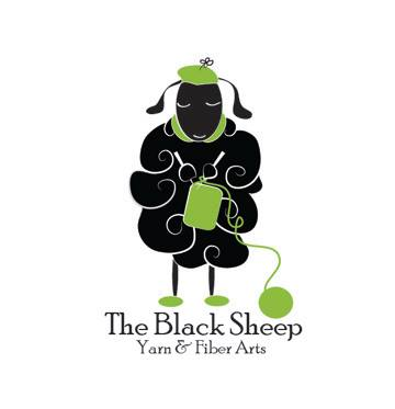 Black Sheep Yarn and Fiber Arts Logo