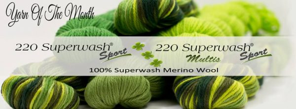 Cascade Yarn of the Month March 2016