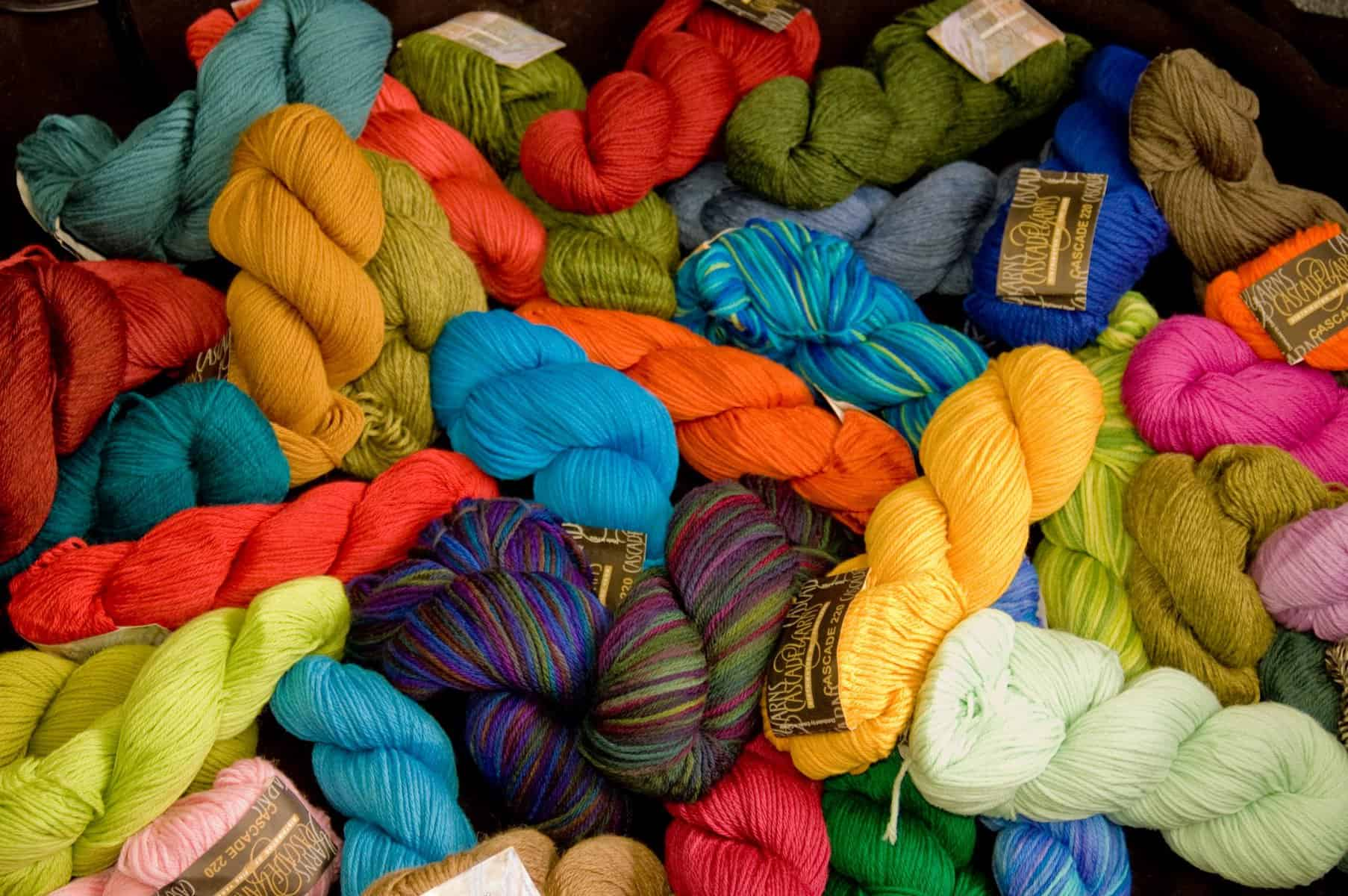 Cascade Yarns | Pile of Yarn