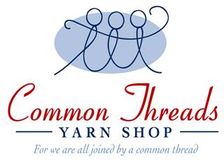 Common Threads Yarn Shop Logo
