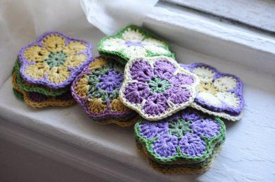 Conversational Threads | Crochet Flowers